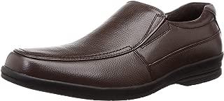 BATA Men's Dune Slip on Leather Loafers