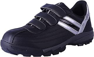 DDTX Men's Steel Toe Work Shoes Lightweight Safety Sneakers Shoes Black