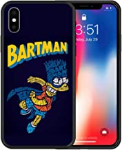 Bart Man Bat Hard PC Cover Case for iPhone 6 6 Plus iPhone 6S 6S Plus iPhone 7 7 Plus iPhone 8 8 Plus iPhone X XS iPhone Xs Max iPhone XR iPhone 11 iPhone 11 Pro iPhone 11 Pro Max (iPhone 11 Pro Max)