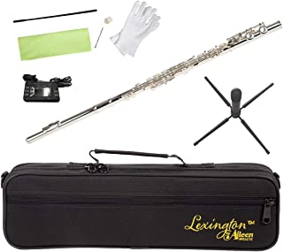 Lexington Advanced Silver Plated Closed Hole C Flute with Full Accessories and Maintenance Kit