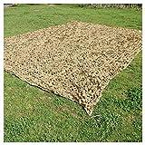Rideau de protection pour filet de camouflage, Camouflage Net Beige, 4x6m Jardin Écran...