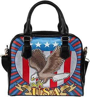 Custom Unique Women's PU Leather Shoulder Bags Handbags