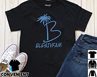 Alex Blesiv Fam Palm Blesivfam Logo T Shirt Long Sleeve Sweatshirt Hoodies
