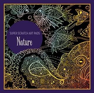 Super Scratch Art Pads: Nature