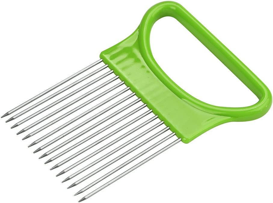 Goutique Onion Slicer Food Slice Assistant Gadgets Year-end annual account Kitchen Fort Worth Mall Kitch