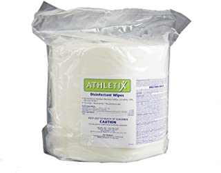 Athletix Equipment Cleaning Wipes | 900 Gym Wipes per roll - 2 x Roll per case | 1800 Disinfectant Wipes per Order - $0.04c per Wipe | Specially Designed for Use on Equipment | Safe on Skin