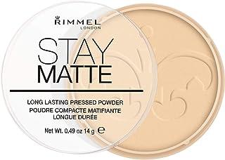 Rimmel Stay Matte puder matujący nr 001 - Transparent