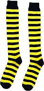 Striped Bumble Bee Socks