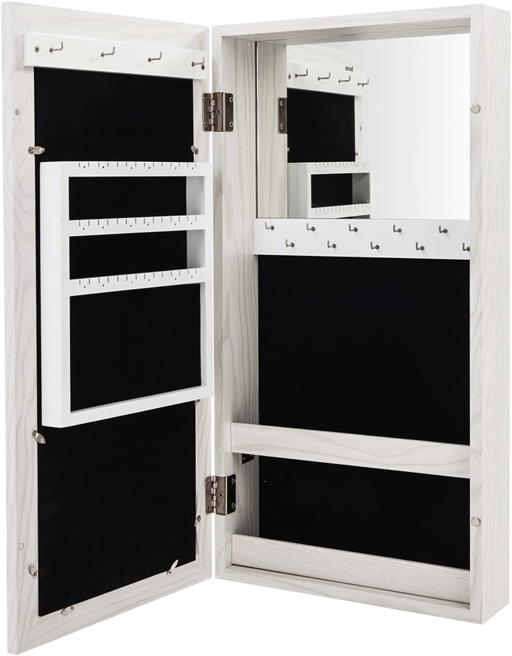 Simple PVC Wood Grain Coating Jewelry Storage Damp-Proof Ranking TOP18 Safety and trust M Photo