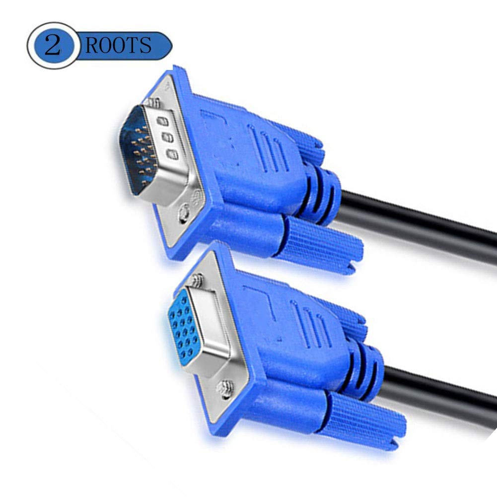 Cable de extensión VGA, macho a macho, cable de datos de monitor ...