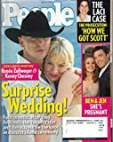 People Magazine May 23, 2005 Renee Zellweger & Kenny Chesney Surprise Wedding,Ben & Jen,The Laci Case May 23, 2005