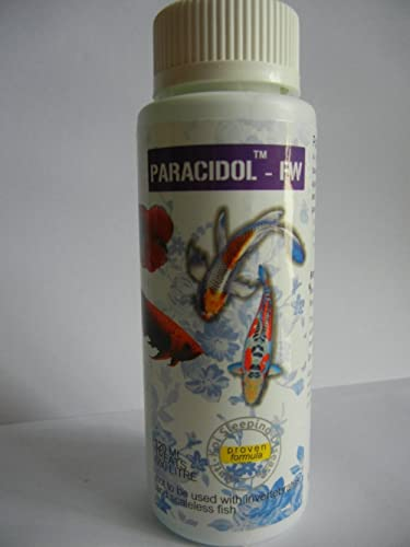 Aquatic Remedies Aquarium Medicine Paracidol Freshwater 120Ml