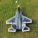 GRTVF 2.4G Remote Control Airplane LED Stabilizing System Glider 6 CH DIY Fixed Wing EPP Electric Aircraft Built in 6 Axis Gyro System Super Easy to Fly RC Helicopter