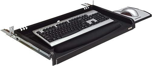 درج لوحة مفاتيح تحت المكتب 3M أسود