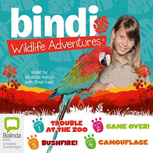 Bindi Irwin Wildlife Adventures audiobook cover art