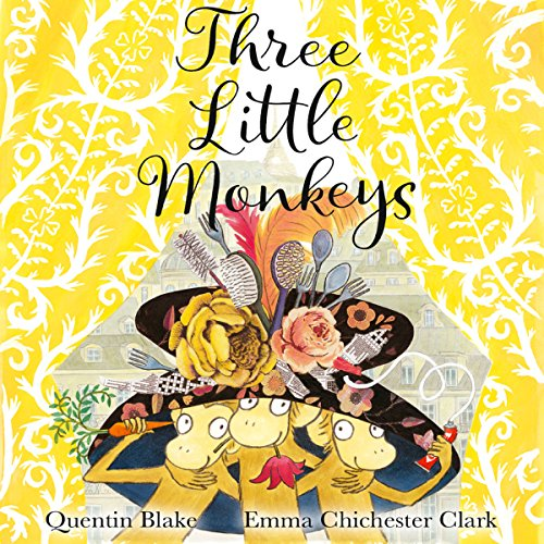Three Little Monkeys cover art