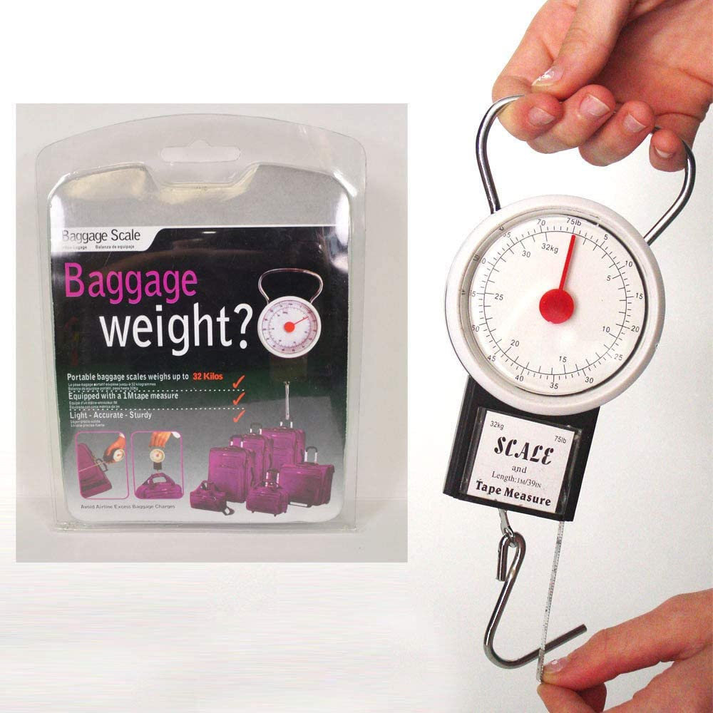 Small Portable Baggage Travel Scale Luggage Hanging Tape Cheap Measure 1 year warranty