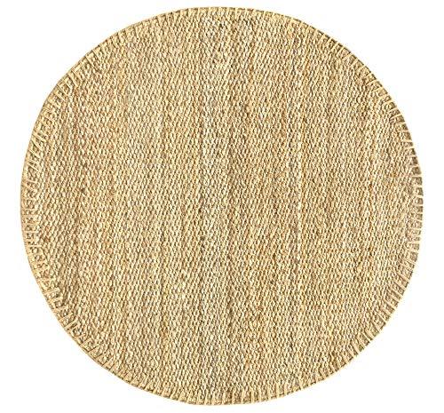 HAMID Jute Teppich - Granada Teppich 100% Natürliche Jutefaser - Weicher Teppich und Hohe...