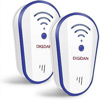 comprar comparacion 2020 Actualizado Repelente ultrasónico, DANGZW Plug In Pest Control Electrónico para Mosquitos, Cucarachas, Rociadores, ...