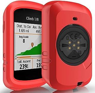 TUSITA Case for Garmin Edge 830 - Anti Drop Silicone Protective Cover - Cycling GPS Computer Accessories