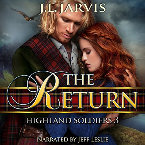 Highland Soldiers 3 audiobook cover art