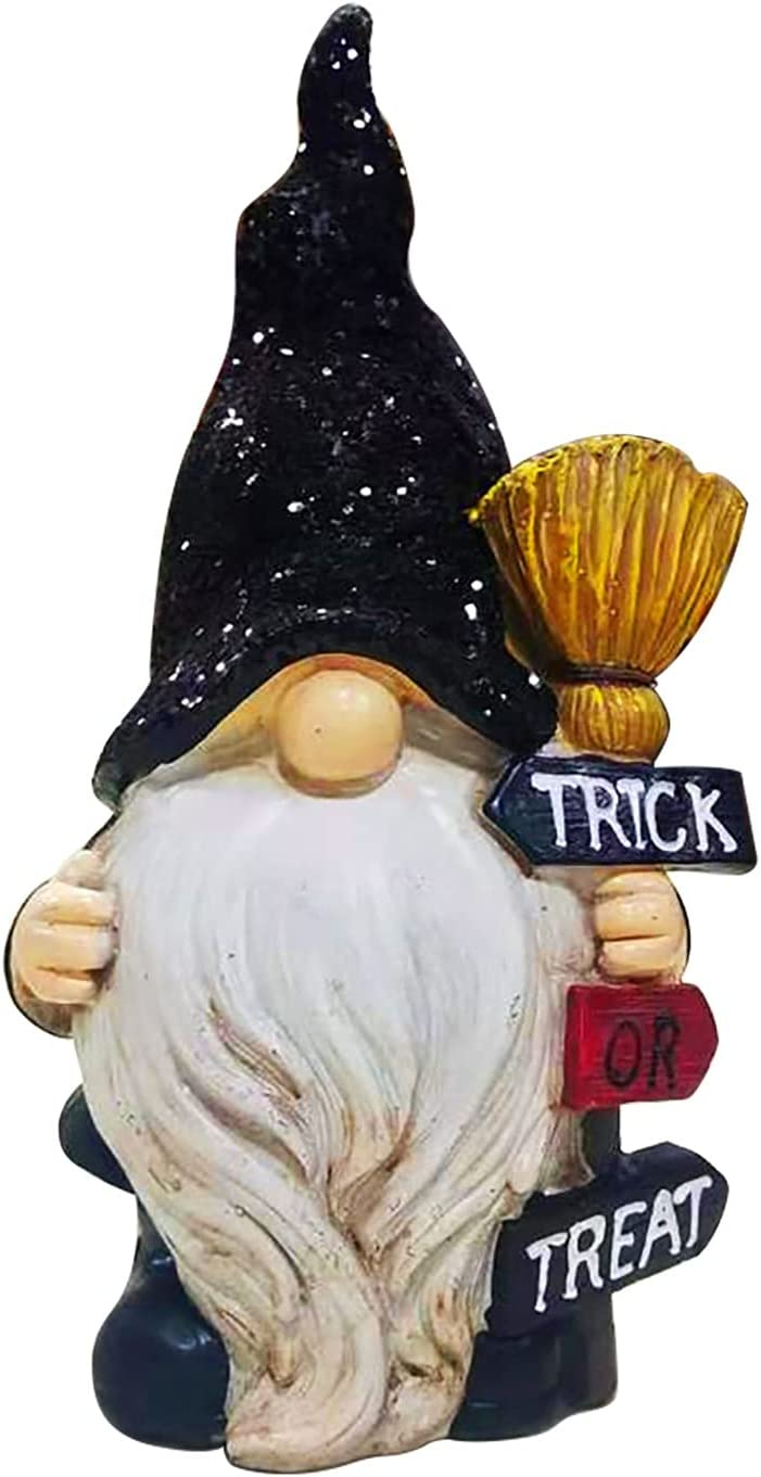 Xenomose Halloween Resin Free shipping anywhere in the nation Faceless Max 52% OFF Doll Swedish Tab Gnomes Dwarf