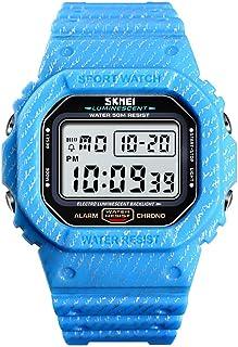 Docooler 1471 Analog Digital Watch Luminous Outdoor Sport Watch Men Digital Watch 5Bar Waterproof Alarm Clock Cowboy Fashion Watches relogio masculino