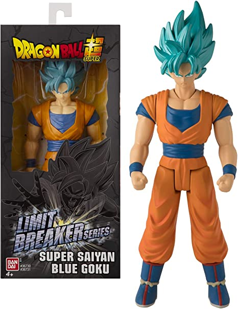 Dragon Ball- Goku Super Saiyan Blue Limit Breakers, Multicolor (Bandai 36731)