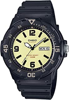 Casio Youth-Analog Analog Yellow Dial Men's Watch - MRW-200H-5BVDF (A1185)