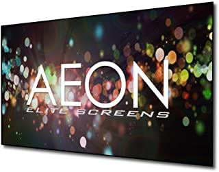 Elite Screens Aeon Series, 135-inch 16:9, 8K / 4K Ultra HD Home Theater Fixed Frame EDGE FREE Borderless Projector Screen, CineWhite Matte White Front Projection Screen, AR135WH2