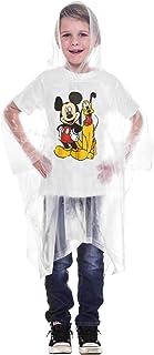 Disney Mickey Mouse Pluto Rain Poncho Hoodie (Mickey and Pluto, Youth)