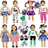 20-Piece American Doll Clothes and Accessories fit American 18 inch Girl Dolls