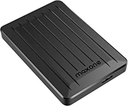 320GB External Hard Drive - Maxone Upgrade 2.5'' Portable HDD USB 3.0 for PC, Laptop, Mac, Xbox one, PS4, Chromebook, Smart TV - Black