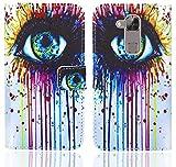 Huawei G8 / GX8 Handy Tasche, FoneExpert® Wallet Hülle Flip Cover Hüllen Etui Ledertasche Lederhülle Premium Schutzhülle für Huawei G8 / GX8 (Pattern 10)