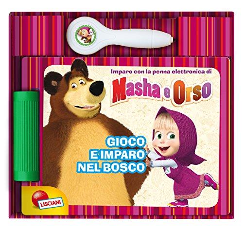 Lisciani 07562 - Libro penna quiz gioco e imparo nel bosco