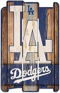 MLB Wood Fence Sign