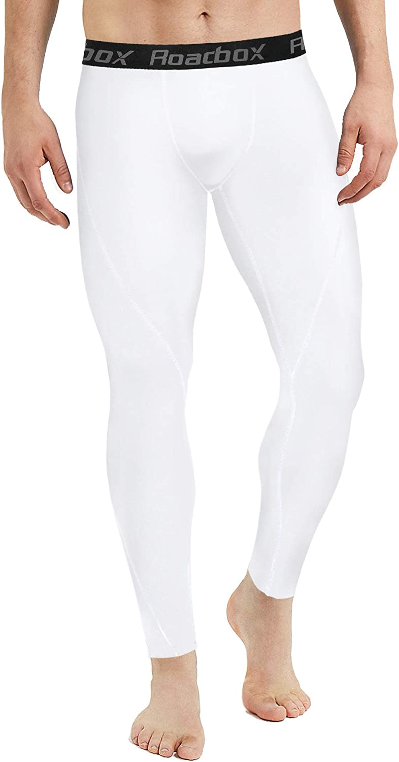 2 or 3 Pack Men/'s Compression Pants Thermal Workout Cool Dry Sports Leggings Tights Baselayer Roadbox 1