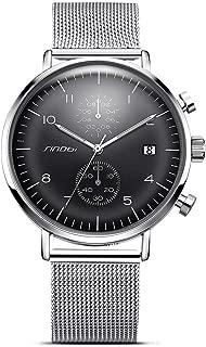 Business Watches Men Fashion Luminous Watch Men Steel Mesh Men's Watch Clock Relogio Masculino Creative Wristwatch