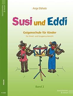 Susi y Eddingtons banda 2–Una Violín Colegio para niños a partir de 5años–para único Grupo y de enseñanza (Notas)