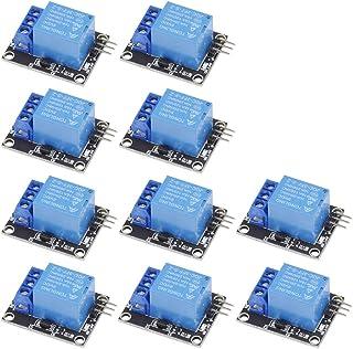 Aihasd 10PCS 1 Canal 5V Módulo de relé Junta de Escudo KY-019 LED Indicador para Arduino Raspberry Pi PIC AVR DSP Arm