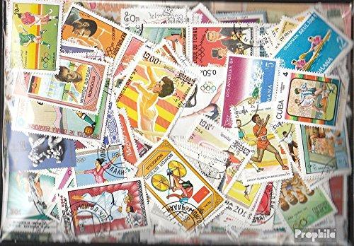 Prophila Collection Motivazioni 1.000 Diversi Sport Francobolli (Francobolli per i Collezionisti) Altri Sport