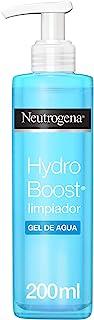 Neutrogena Hydro Boost Limpiador Gel de Agua Elimina las Impurezas y el Maquillaje 200 ml