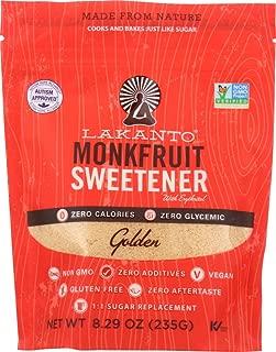 Lakanto (NOT A CASE) Golden Monkfruit Sweetener Sugar Substitute