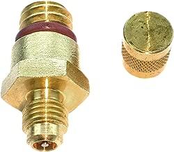 TamerX HFCM Water Separator Drain Plug w/Integrated Test Port for Ford Powerstroke 6.0L Diesel