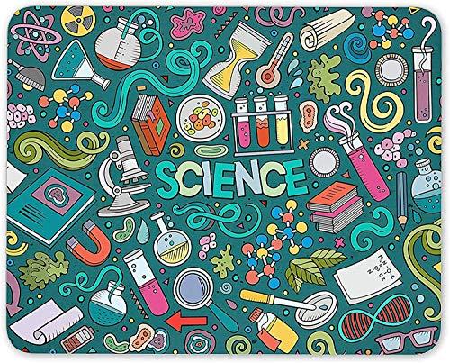 N\A Tema de la Ciencia Alfombrilla para ratón Biología Física Química Regalo Regalo de computadora