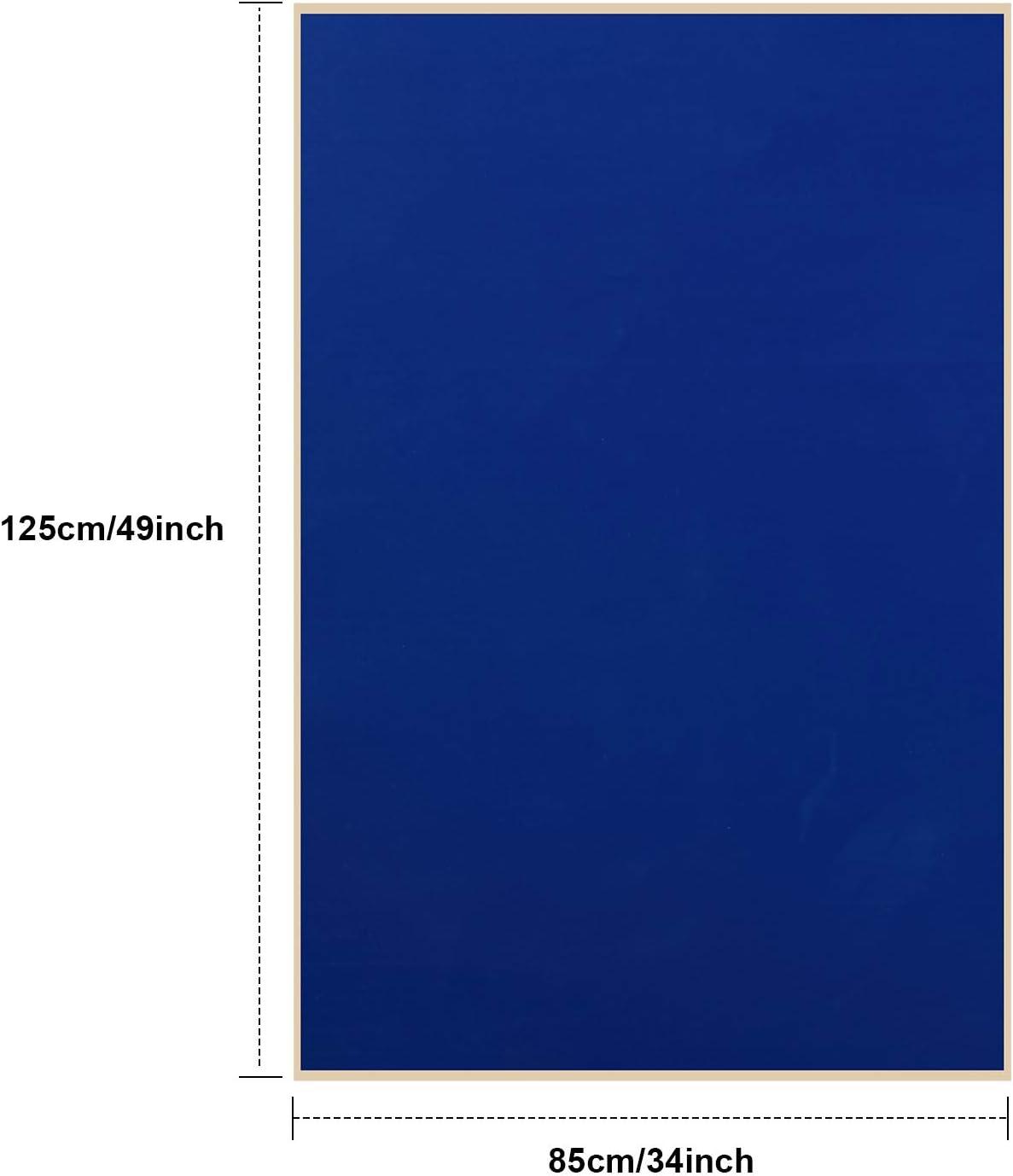 Syhood Parches de Reparaci/ón de Forro de Piscina de Vinilo de 49 x 34 Pulgadas para Reparaci/ón de Piscinas de Vinilo Azul