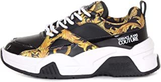 VERSACE JEANS COUTURE E0 VWASF3 71953 Sneakers Basse Donna Nero 39