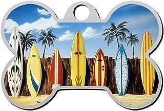 Custom Beach Surfboard Pet Identity