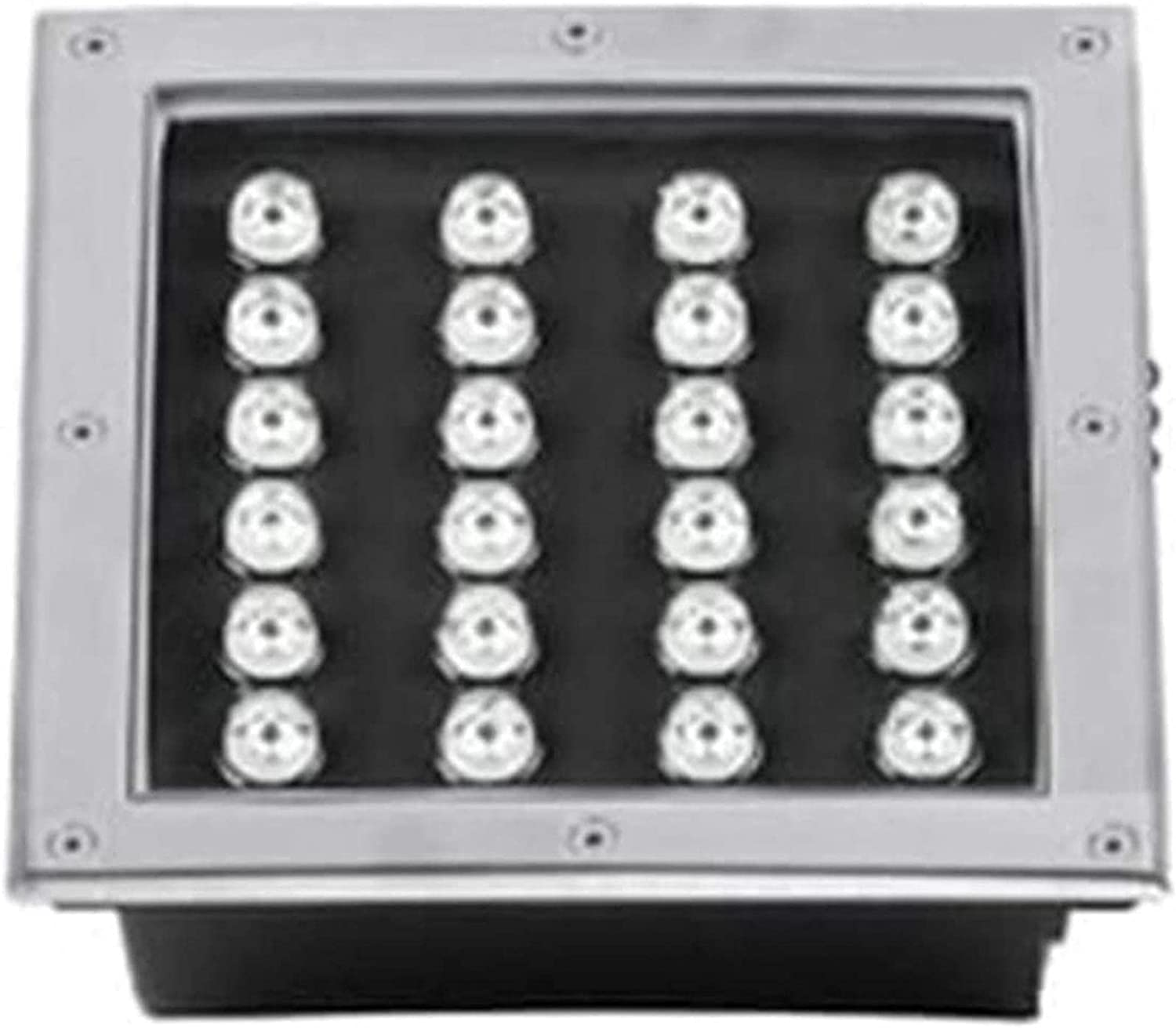 MWKLW LED [Alternative dealer] Recessed Floor Light 24W IP67 sold out Steel Stainless Square