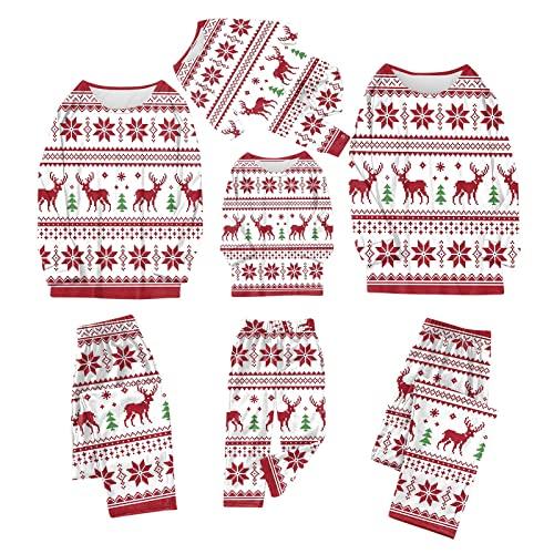 ROYIYI Jumpsuit Familie Pyjama Set kuschelige Schlafoverall Nachtwäsche Flanell Onesie Anzug Herren Damen Pet Tier Anzug Einteiler Overall Winter Weihnachten